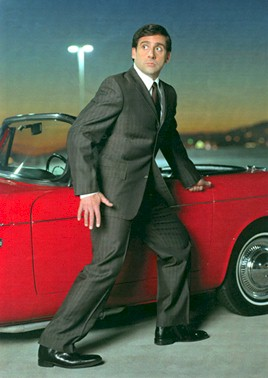 This image of Steve Carell ran in the November 2005 Playboy