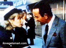 With daugher Stacy in Get Smart Again