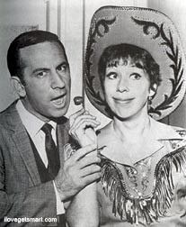 Carol Burnett and Don Adams